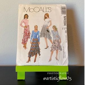 NEW! McCall's M4594 Fashionable And Fun Skirts